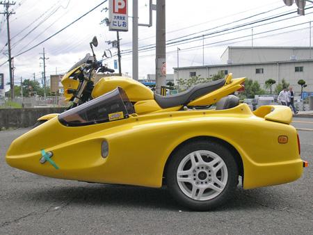 【スズキ GSX1400 & マツシタサイドカー】_e0218639_1462253.jpg