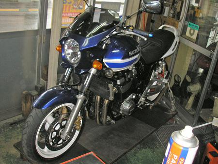 【スズキ GSX1400 & マツシタサイドカー】_e0218639_1543266.jpg