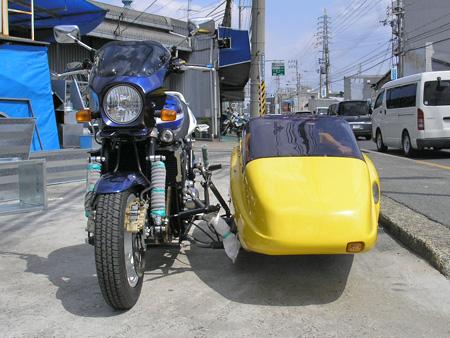 【スズキ GSX1400 & マツシタサイドカー】_e0218639_2155819.jpg