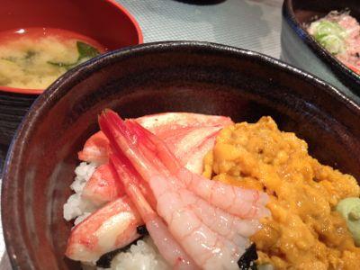 海鮮丼!_e0126046_845179.jpg