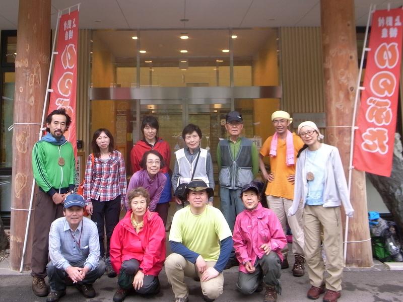 5月20日 シオジ原生林ハイキング レポート_b0209774_0302093.jpg