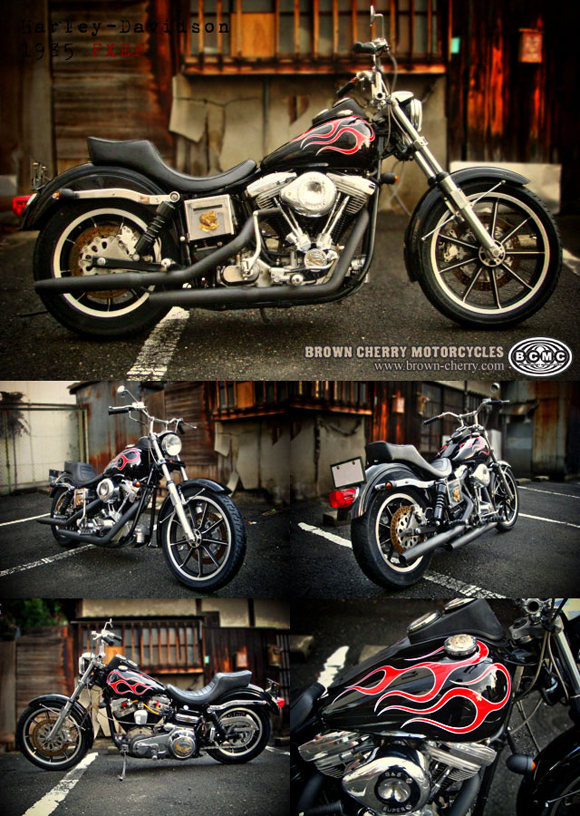 Harley-Davidson 1985FXEF_c0153300_16404868.jpg