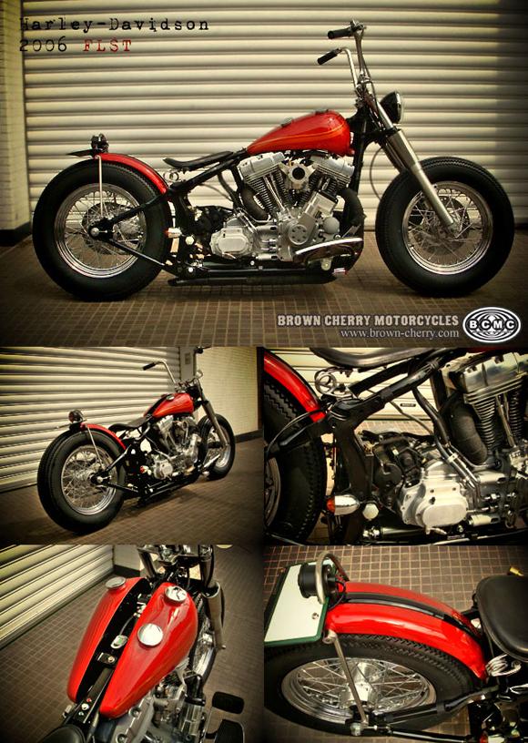 Harley-Davidson 2006FLST_c0153300_1649315.jpg