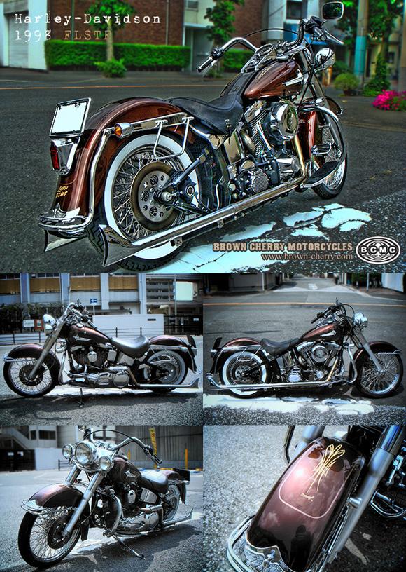 Harley-Davidson 1998FLST_c0153300_1726838.jpg