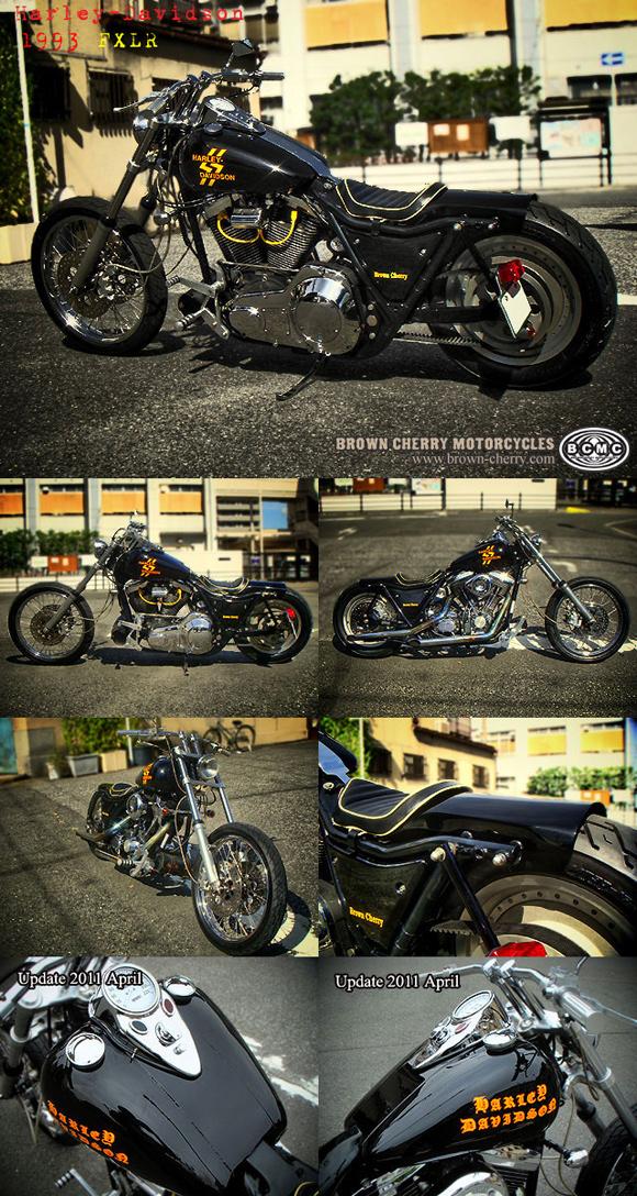 Harley-Davidson 1993FXLR_c0153300_17272743.jpg