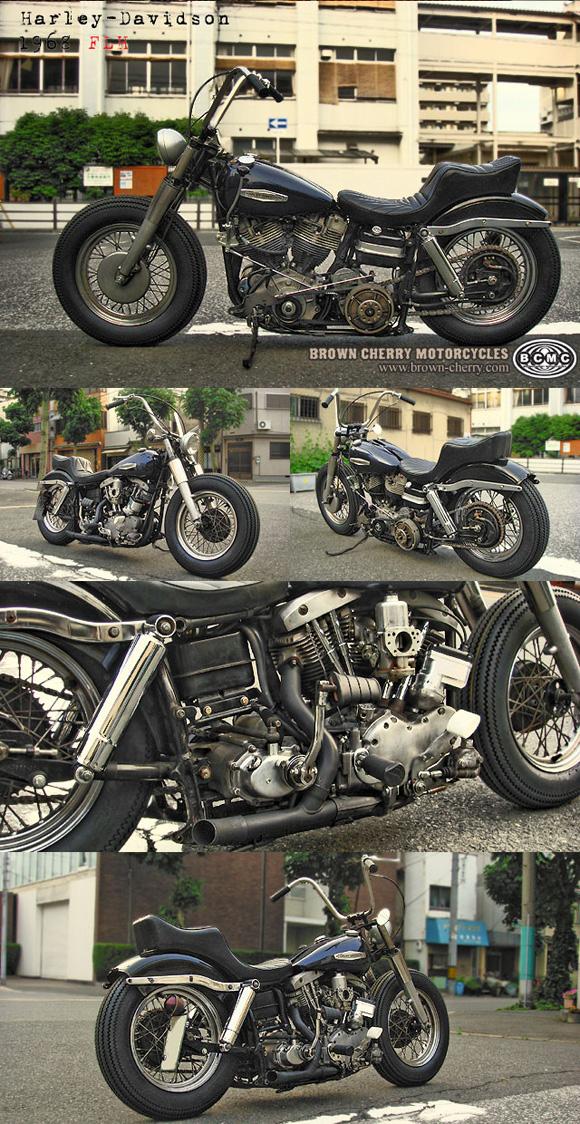 Harley-Davidson 1968FLH_c0153300_17342677.jpg