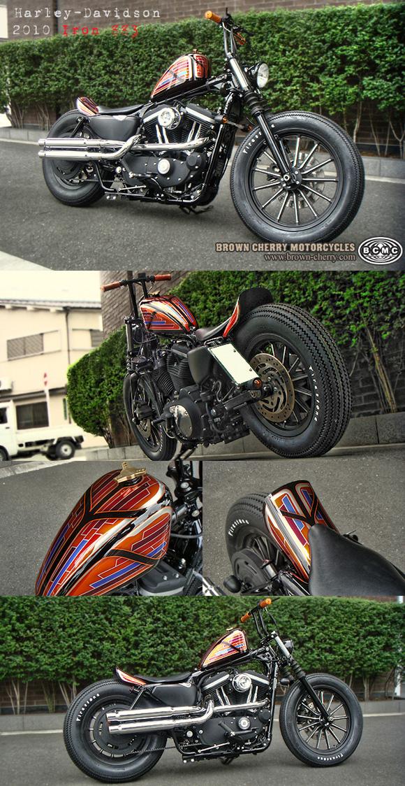 Harley-Davidson 2010 Iron883_c0153300_17352283.jpg