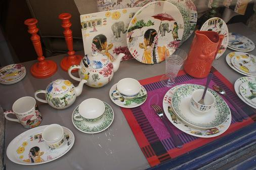 パリ 大好きなお皿 Gien♪_b0060363_7412753.jpg