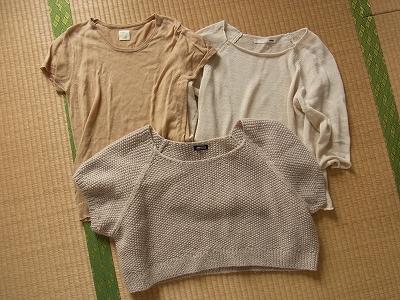 【 Tシャツの数と収納 】_c0199166_7361555.jpg