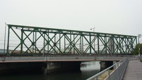 岩崎運河橋梁・木津川橋梁(大阪...