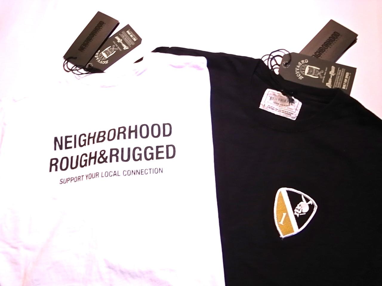 NEIGHBORHOOD × ROUGH AND RUGGED ITEMS!!!!_d0101000_15385099.jpg
