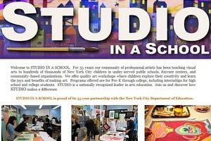 ニューヨークでは一流アーティストが公立小学校で授業してくれます Visual Art Appreciation Week_b0007805_1243539.jpg