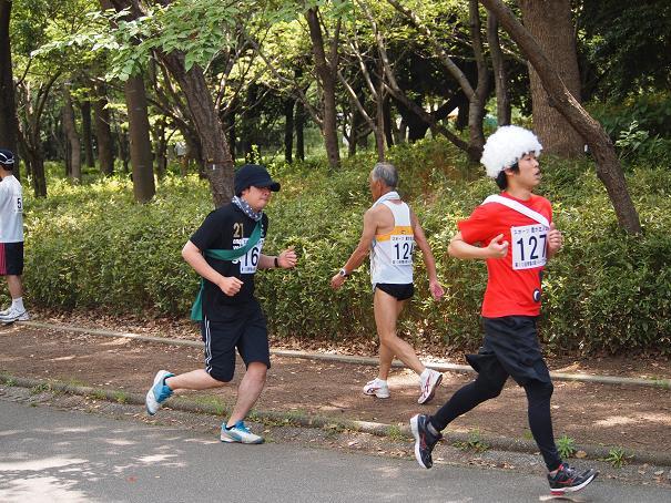 絆で繋ぐ42.195㌔  青葉の森リレーマラソン①_e0164724_17105858.jpg