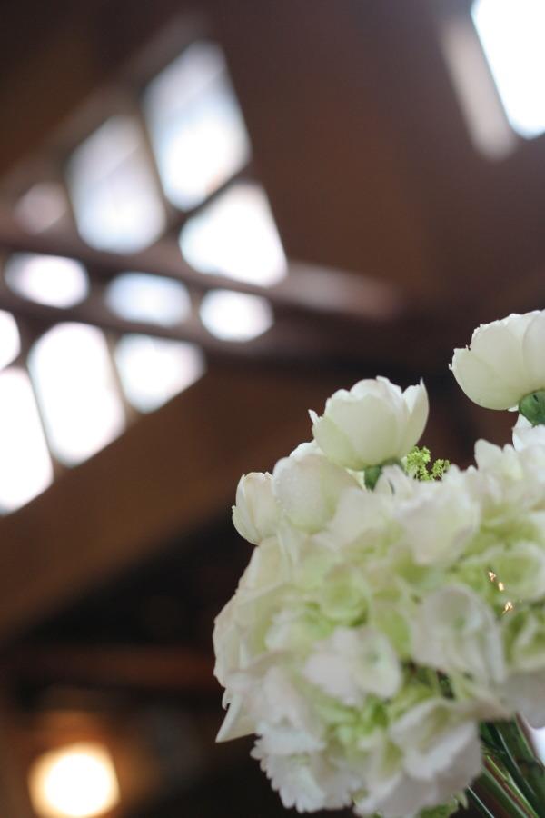 教会の装花 花で作るウエルカムボード 聖オルバン教会様へ_a0042928_17363488.jpg