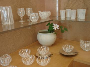アキノヨーコガラス展- 3_b0132442_1224318.jpg