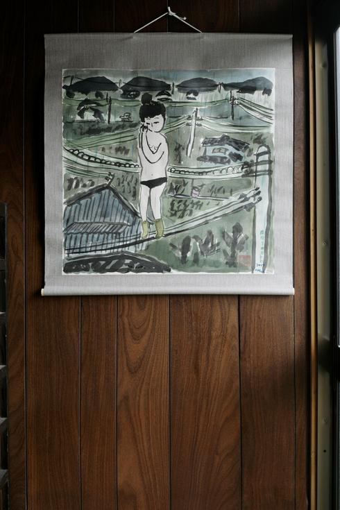 中野真典展「ぼくの天使」_a0265743_0271232.jpg