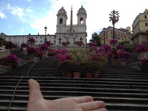 イタリア紀行 quindici  ローマを走る。_a0194908_9511075.jpg