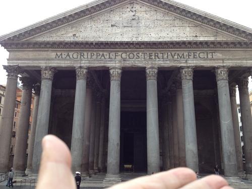 イタリア紀行 quindici  ローマを走る。_a0194908_9514141.jpg