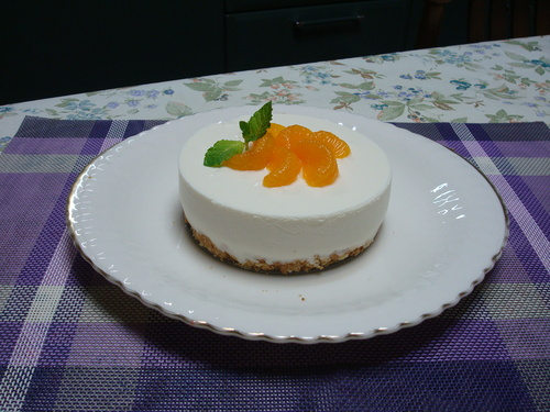 低カロリーのチーズケーキ_c0173014_914524.jpg