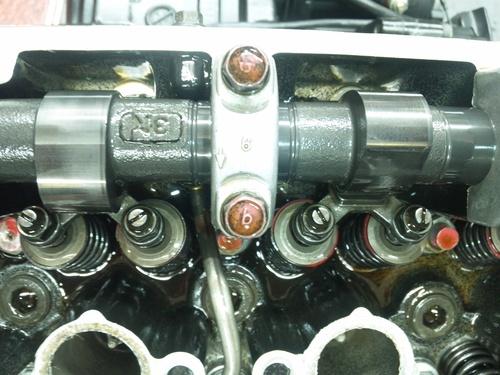 GPZ900R エンジンオーバーホルですなっ。その2_a0163159_23393731.jpg