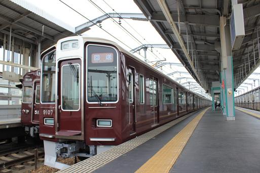 阪急9007F 新造車両 宝塚線入線_d0202264_1616501.jpg