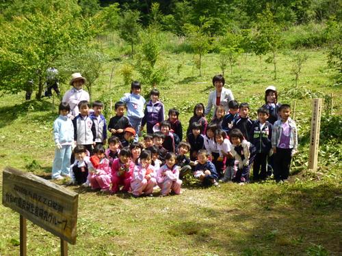 小学校入学記念植樹祭をしました!_c0238069_13263195.jpg