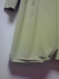 【お直し】 コート裾のお直し_b0199696_1883926.jpg