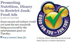 ニューヨークで大型サイズのソーダ禁止へ!? さらにディズニーもジャンクフードCMを制限へ_b0007805_2359820.jpg