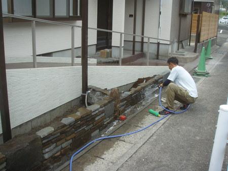 宮崎市F様邸外溝renovation_b0236217_229533.jpg
