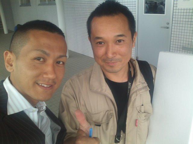 ランクルトミー札幌店(^o^) オートガレージ渡辺社長!_b0127002_14521130.jpg