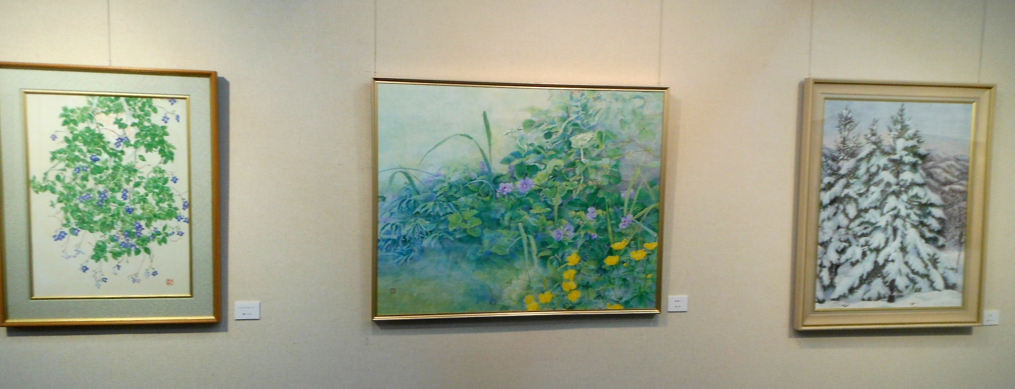 1789)④「北の日本画展 第27回」 時計台 終了5月21日(月)~5月26日(土) _f0126829_1234071.jpg
