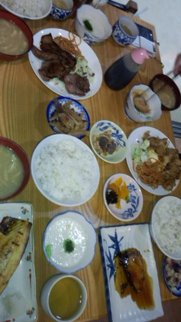 定食屋で女子会(笑)_e0114246_905777.jpg