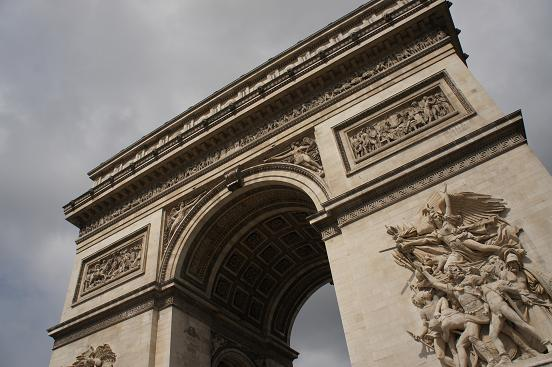 パリ 凱旋門~歩く_b0060363_0331086.jpg