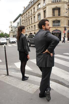 パリ 凱旋門~歩く_b0060363_1512375.jpg