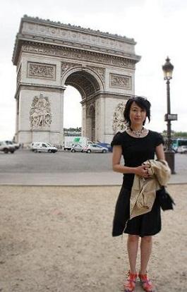 パリ 凱旋門~歩く_b0060363_3265553.jpg