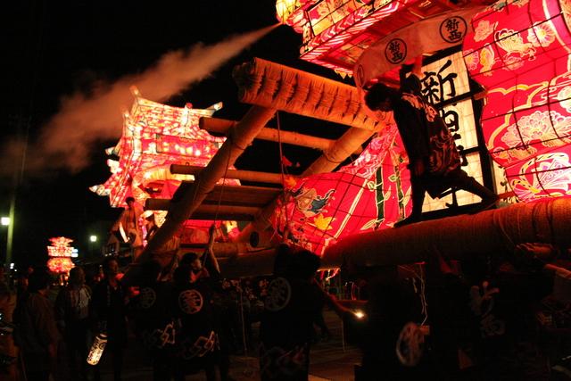 津沢夜高あんどん祭り_c0196076_20273399.jpg