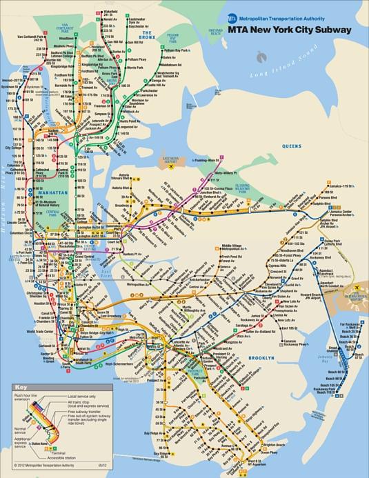 ニューヨークでは大半の地下鉄に終電がない_b0007805_11272056.jpg