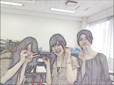 アートクレイシルバー体験会〜名古屋文化短期大学_e0095418_1492343.jpg