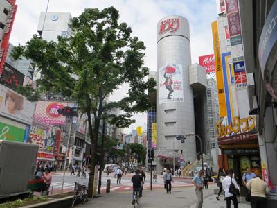 6月7日(木)今日の渋谷109前交差点_b0056983_10523887.jpg