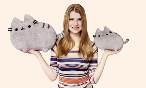 とってもカワイイ猫キャラのGIFアニメ・ブログ、Pusheen the Cat_b0007805_21124574.png