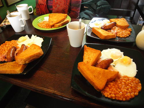 English Breakfast☆_c0060412_10301380.jpg