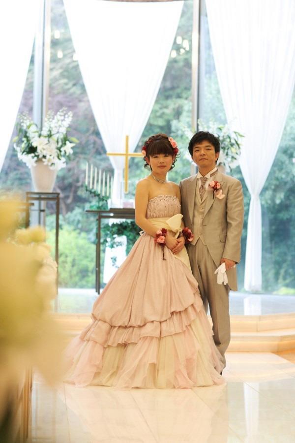 新郎新婦様からのメール リストブーケ 椿山荘さまへ_a0042928_1914327.jpg
