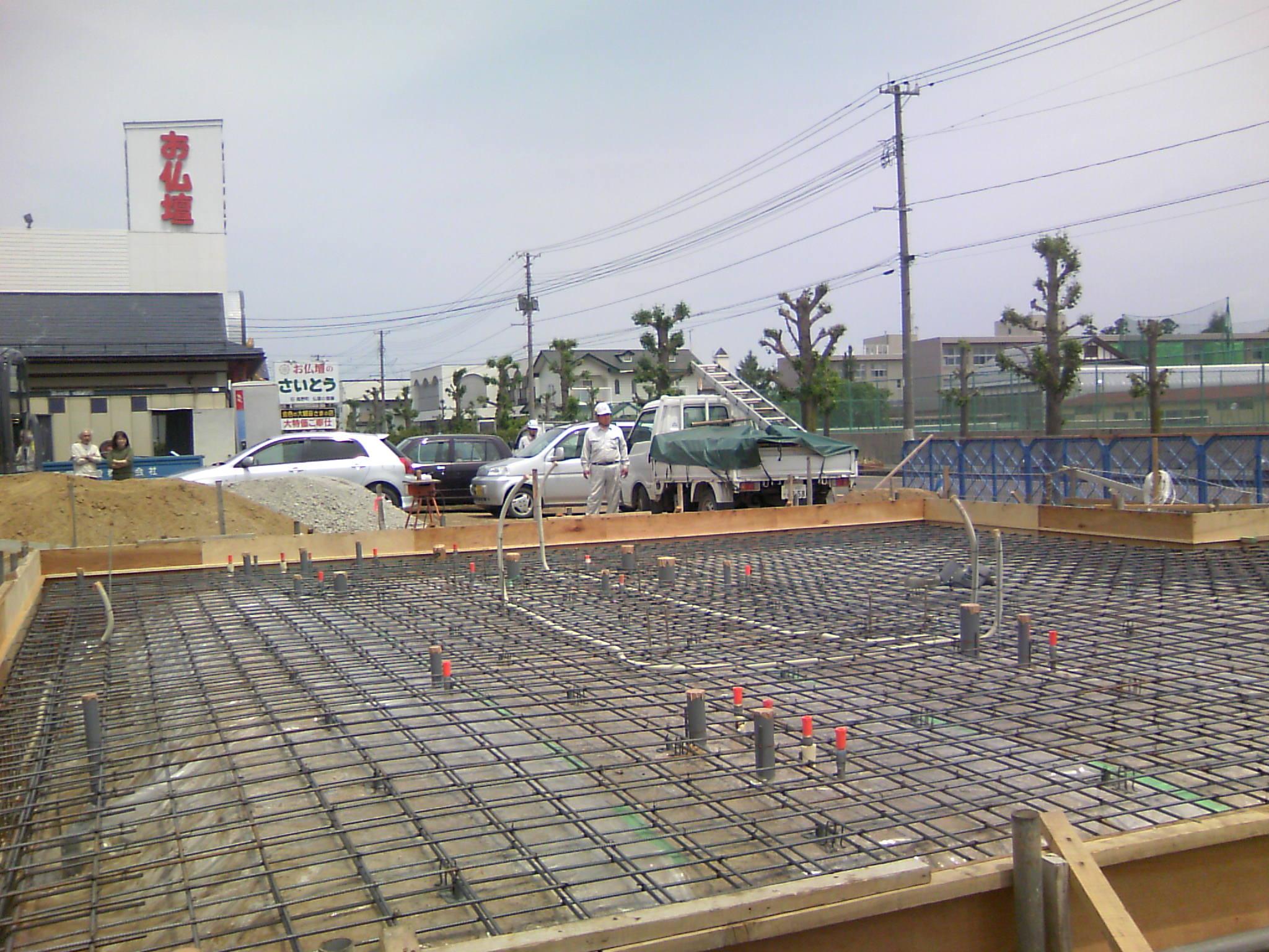長井市 K店舗 現場打ち合わせ_c0097137_9391695.jpg