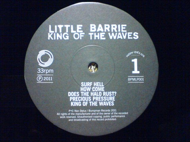 King Of The Waves / Little Barrie_c0104445_22274693.jpg