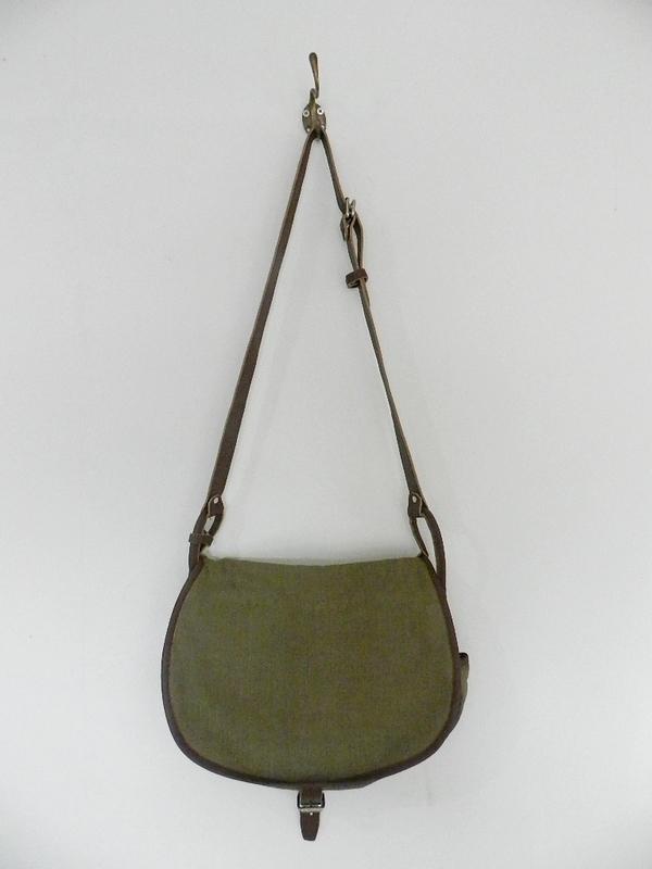 SQUAT original reproduction hunting bag with vintage linen_f0226051_12102968.jpg