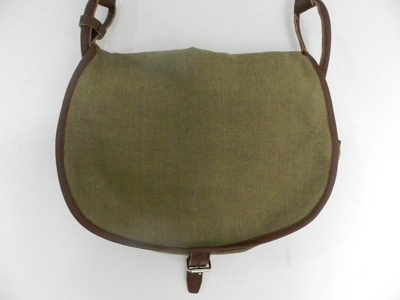 SQUAT original reproduction hunting bag with vintage linen_f0226051_12104992.jpg