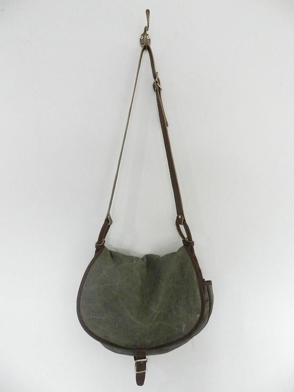 SQUAT original reproduction hunting bag with vintage linen_f0226051_12124631.jpg