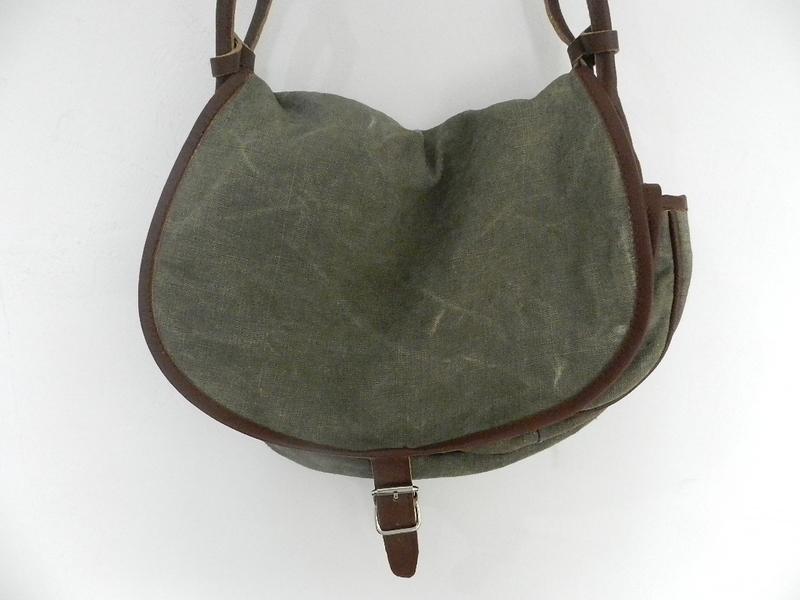 SQUAT original reproduction hunting bag with vintage linen_f0226051_12131655.jpg