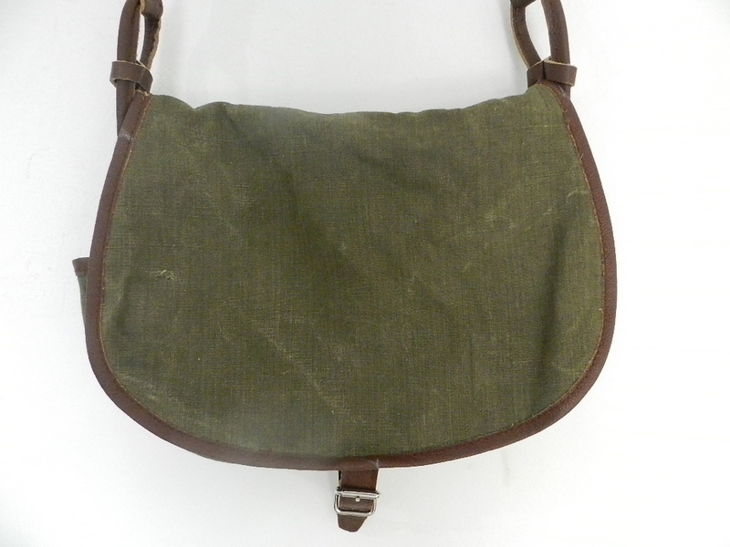 SQUAT original reproduction hunting bag with vintage linen_f0226051_12151515.jpg