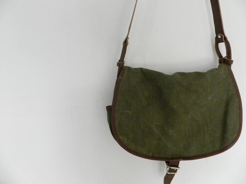 SQUAT original reproduction hunting bag with vintage linen_f0226051_12154681.jpg